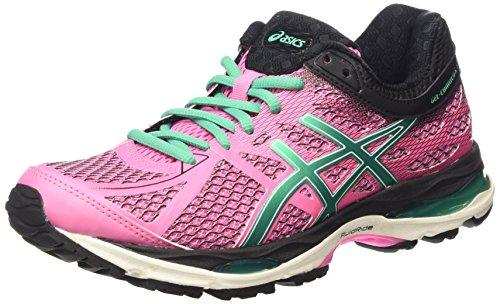 asics-gel-cumulus-17-womens-running-shoes-purple-flamingo-peacock-green-black-1988-5-uk