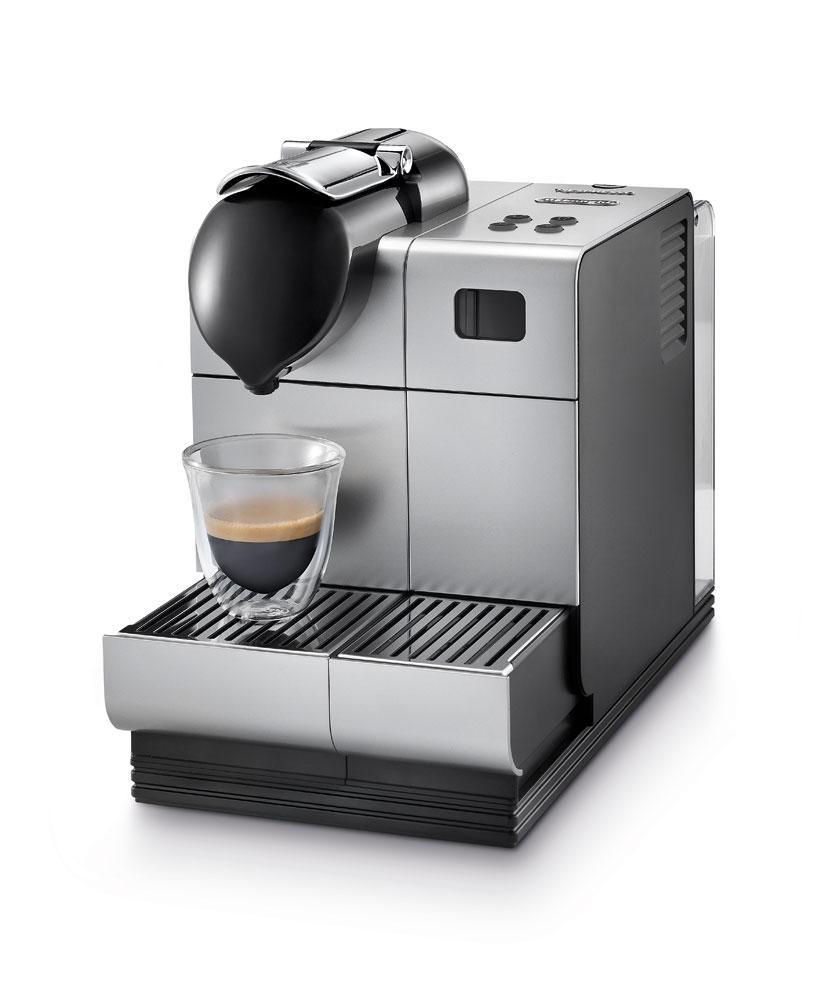 DeLonghi Silver Lattissima Plus Nespresso
