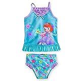 Disney Sofia Tankini Swimsuit for Girls - 2-piece