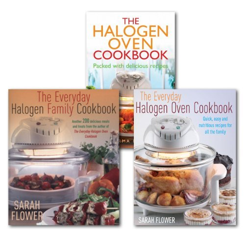 Halogen Oven Cookbook Collection Everyday Family Recipes In 3 Books Set Baking