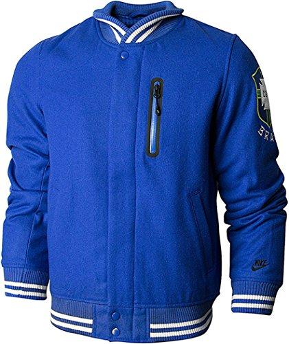 Nike -  Giacca - Uomo nero TC Brasil - Blue S