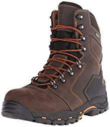 Danner Men\'s Vicious 8 Inch NMT Work Boot,Brown/Orange,7 D US