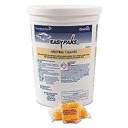 Easy Paks 90653 DVO990653EA Neutral Cleaner, 0.5 oz. Packet, 90/Tub (Pack of 2)