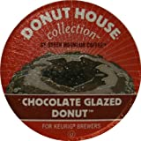Donut House Collection Coffee, Chocolate Glazed Donut, K Cup Portion Pack for Keurig K Cup Brewers, 24 Count Sweet Sugar Product Description Portion Pack Portion Pack Messy Left Behind Keurig K Cups Keurig KCup House Gourmet Glazed Freshness Donut Cup Portion Crumbs Collection Coffee Mug Coffee Cup Coffee Chocolate Coffee Chocolate Cups chocolate Brewers 24Count