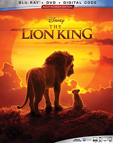 Blu-ray : Lion King (2019) (2 Discos)