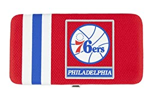 NBA Philadelphia 76ers Shell Mesh Wallet by Football Fanatics