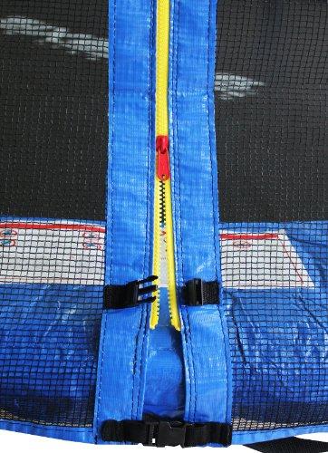 Imagen principal de SixBros. SixJump 3,70 Trampolín de jardín examinado por Intertek/GS | escalera | red de seguridad | lluvia cobertura - CST370/L1720