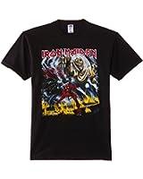 Iron Maiden Men Number of the Beast Short Sleeve T-Shirt