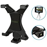 iKross 7 - 10.2 inch Tablet Universal Tripod Mount Adapter with 1 4-20 Connector - (12.5-20 cm Adjustable Width)