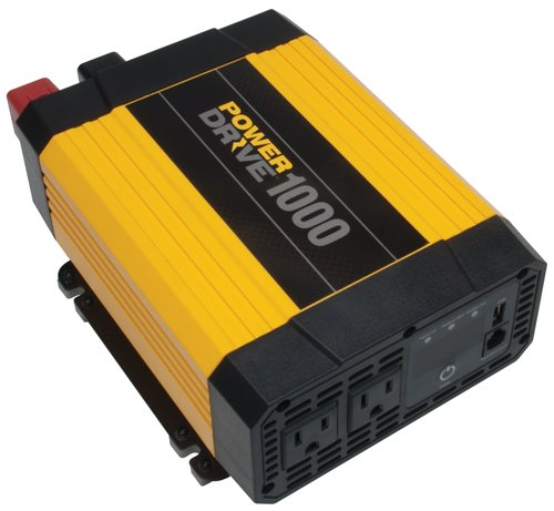 PowerDrive RPPD1000 1000-Watt DC to AC Power Inverter with USB Port and 2 AC Outlet