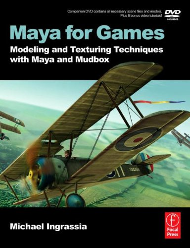 3D Book Maya for Games: Modeling and Texturing Techniques with Maya and Mudbox
