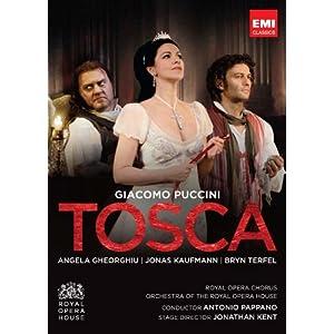 Puccini: Tosca [Royal Opera House, 2011] - Gheorghiu, Kaufmann, Terfel [DVD]