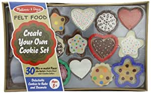 Melissa & Doug Felt Food - Cookie Decorating Set