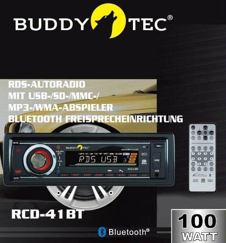 RDS-Autoradio mit USB-/SD-/MMC-/MP3-/WMA-Abspieler