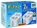 "Filterkartuschen Multimax 10x2er Pack passend auch in Brita Maxtra Siemens,Bosch und Cloer / Aqua Select Plus® 20 (10x2) Dual-Chamber Cartridges ""MultiMax"""