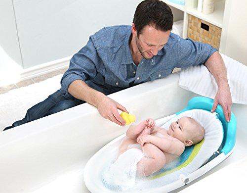 baby 39 s journey easy reach folding tub toddler bathing. Black Bedroom Furniture Sets. Home Design Ideas