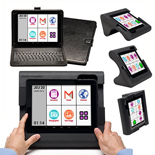 Mobiho Essentiel - TABLETTE 10' wifi + Android 4.2 - INTERFACE SENIOR SIMPLIFIE - Support
