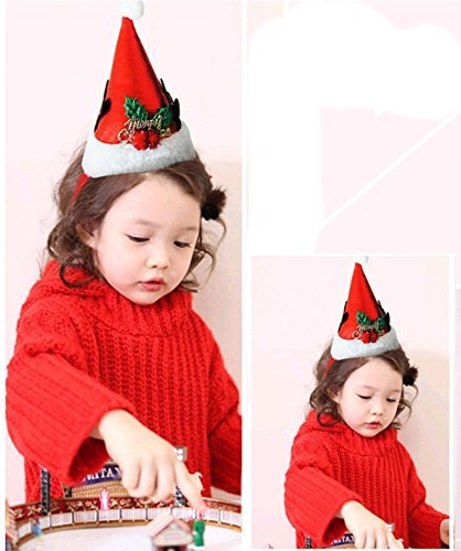 Mini Santa Hat for Children(1/Pkg)