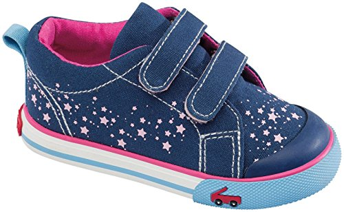 See Kai Run Girls' Skr Veronica (Infant/Toddler) - Blue - 8 Toddler front-415494