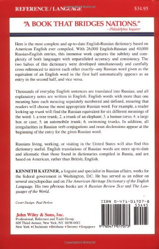 English-Russian, Russian-English Dictionary (Foreign Languages)