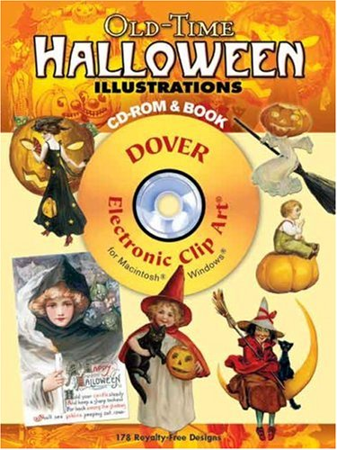 Old-Time Halloween Illustrations CD-ROM and Book (Dover Electronic Clip Art)