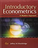img - for By Jeffrey M. Wooldridge Introductory Econometrics: A Modern Approach (with Economic Applications, Data Sets, Student Solutio (4th Fourth Edition) [Hardcover] book / textbook / text book
