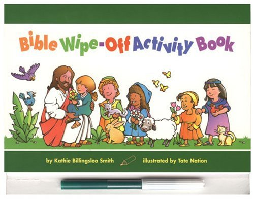 Bible Wipe-Off Activity Book