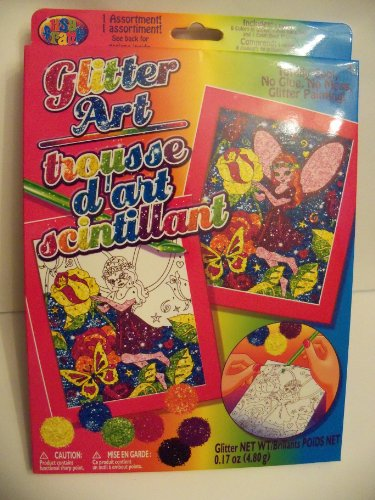 Lisa Frank Glitter Art Kit ~ Fairies & Flowers