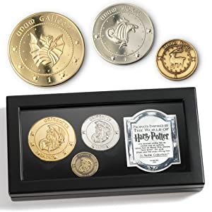 Harry Potter Movie Prop Gringots Movie Coin Collection