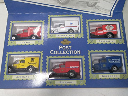 Matchbox Collectibles Post Vehicles of the World 6 Pack