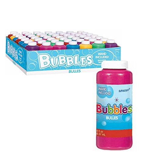 Amscan Fun Filled Summer Bubble Makers Party Activity, 8 oz, Multicolor (Summer Bubble Maker compare prices)