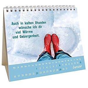 Der kleine Herzenswunschkalender 2017: Mini-Monatskalender (Geschenkewelt Herzenswün