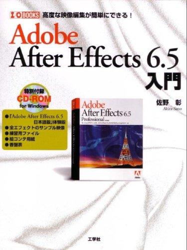 Adobe After Effects 6.5 入門—高度な映像編集が簡単にできる!