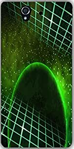 Snoogg Green Planet Space Background Designer Protective Back Case Cover For ...