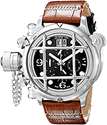 Invicta Men's 17334 Russian Diver Analog Display Swiss Quartz Brown Watch