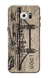 Samsung S7 Edge Cover Premium Quality Designer Printed 3D Lightweight Slim Matte Finish Hard Case Back Cover for Samsung Galaxy S7 Edge by Tamah