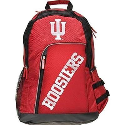 NCAA Indiana Hoosiers 2014 Elite Backpack, One Size, Black by Team Beans, LLC