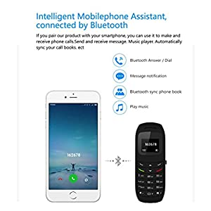 GBSELL BM70 Mini Small GSM Mobile Phone Car Sport Bluetooth Dialer Earhook Headset Cellphone(Black)