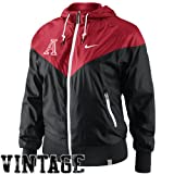 Nike Alabama Crimson Tide Ladies Vault Full Zip Windrunner Jacket - Crimson/Black (X-Small) at Amazon.com