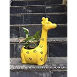 The Garden Store Giraffe Painted Yellow