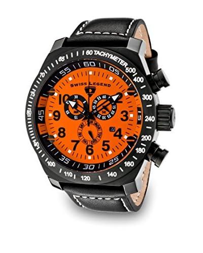 Swiss Legend Reloj Pilot Naranja