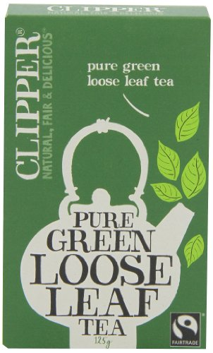 Clipper Pure Green Loose Leaf Tea 125 g (Pack of 6)