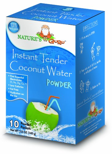 Nature's Guru Natural Instant Tender Coconut