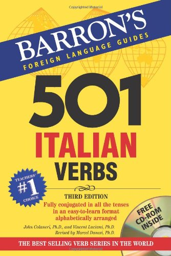 501 Italian Verbs: with CD-ROM (Barrons Foreign Language...