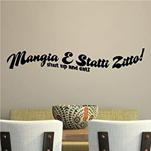 Amazon.com - Mangia E Statti Zitto!(Shut up and eat)..Italian