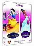 echange, troc La princesse et la grenouille + Blanche-neige et les sept nains - Coffret 2 DVD