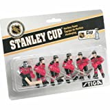 Stiga New Jersey Devils Table Rod Hockey Players