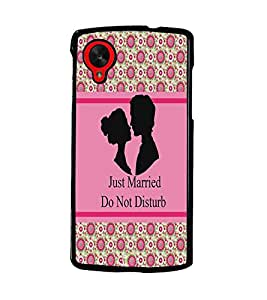 PrintDhaba Quote D-3830 Back Case Cover for LG GOOGLE NEXUS 5 (Multi-Coloured)