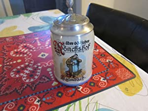 Collectible Kullmbach German Beer Mug from Kullmbach brewery