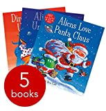 Claire Freedman & Ben Cort 5 Book Collection - Aliens Love Underpants, Aliens Love Panta Claus, Aliens in Underpants Save the World, Dinosaurs Love Underpants, Pirates Love Underpants - Comes in a Handy Bag R.R.P £34.95 Paperback Editions